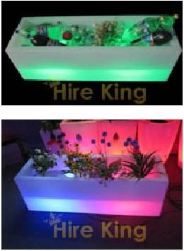 Glow Ice Tub / Flower Pot