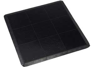 Black Floor - 3 x 3  Panels