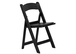 Black Folding Chair Hire