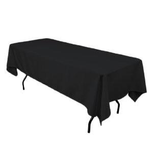 Black Linen Tablecloth (For Trestle Table)