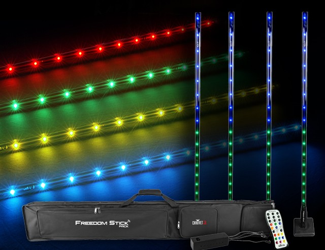 Freedom LED Pack - 4 Light Towers