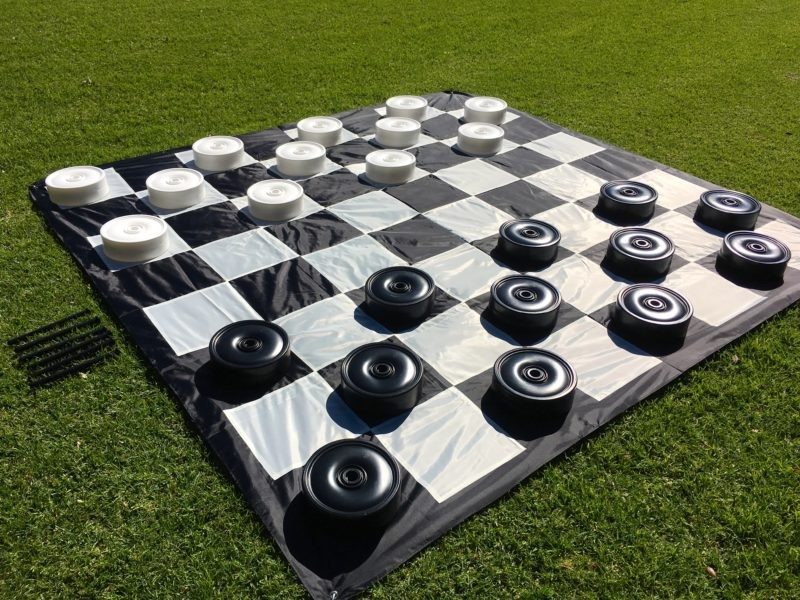 Giant Checkers Hire