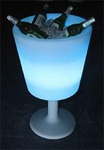 illuminated ice tub round