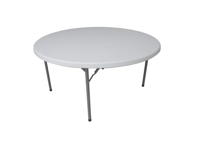 Folding Round table - 5ft