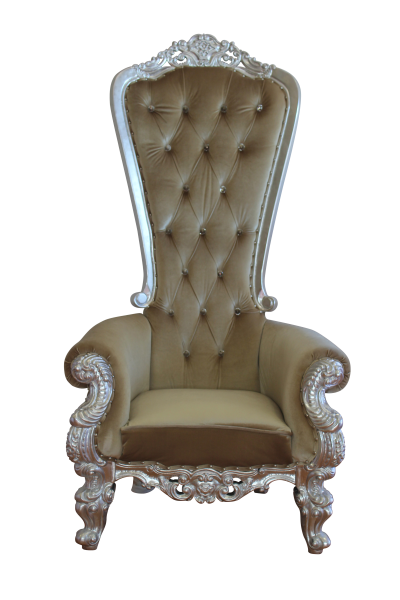 The Regal Throne - Silver