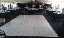 White Floor - 3 x 3  Panels