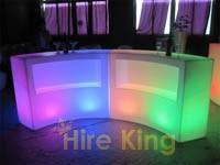 2 pieces round glow bar