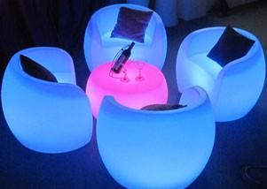 glow tub chair