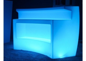 LED 2 Level Glow Round Bar