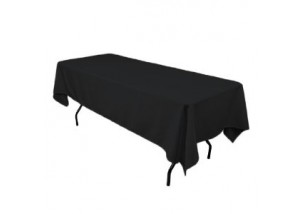 Black Linen Tablecloth (For Trestle Table)