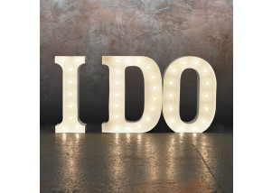 I do light up letters