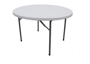 Folding Round table - 4ft