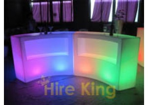 2 pieces round glow bar