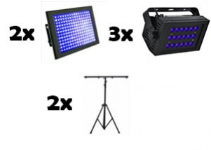 uv lighting silver package