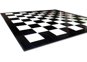 Black & White Floor - 4 x 4 Panels