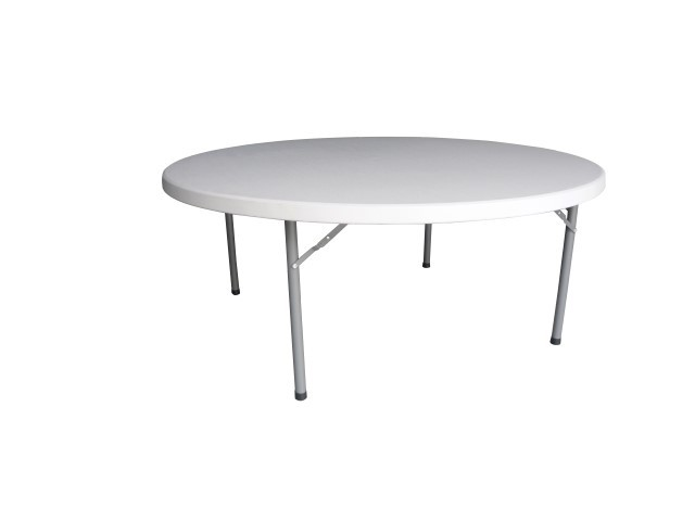 Folding Round table - 6ft