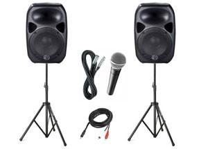 silver speaker package
