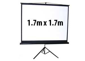 Tripod screen hire