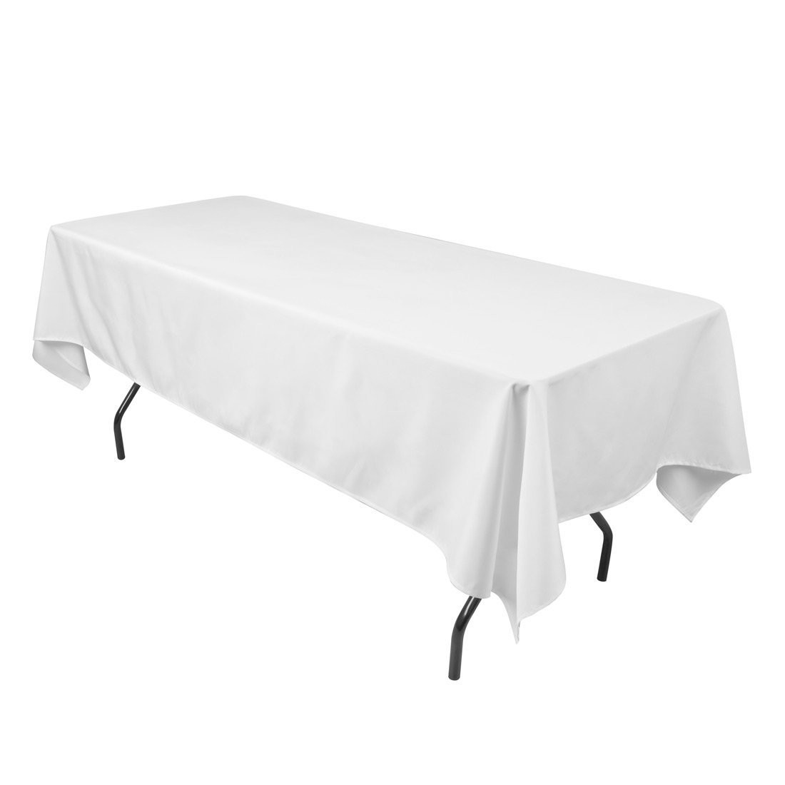 white linen tablecloth hire