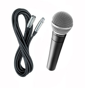Wired Microphone with XLR cable