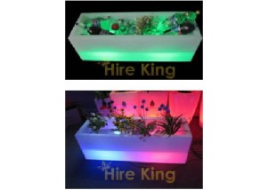 Glow Ice Tub / Flower Pot