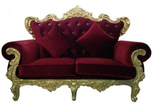 The Regal Sofa - Gold