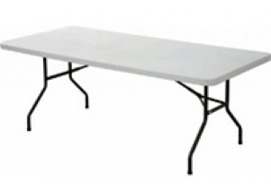 White Trestle Table Hire