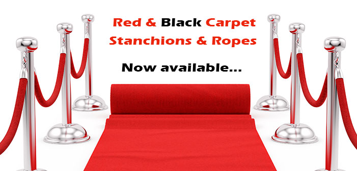 Red & Black Carpet Hire